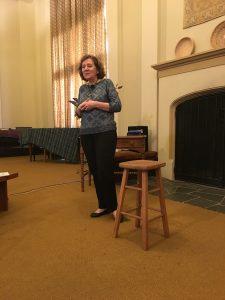 Janet Hegarty giving her Healing 101 talk